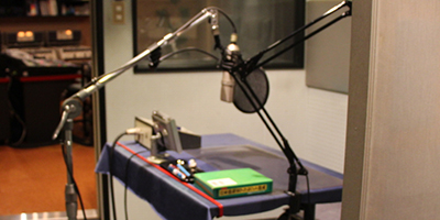 ナレーション収録│MAスタジオの中央録音システム(福岡)